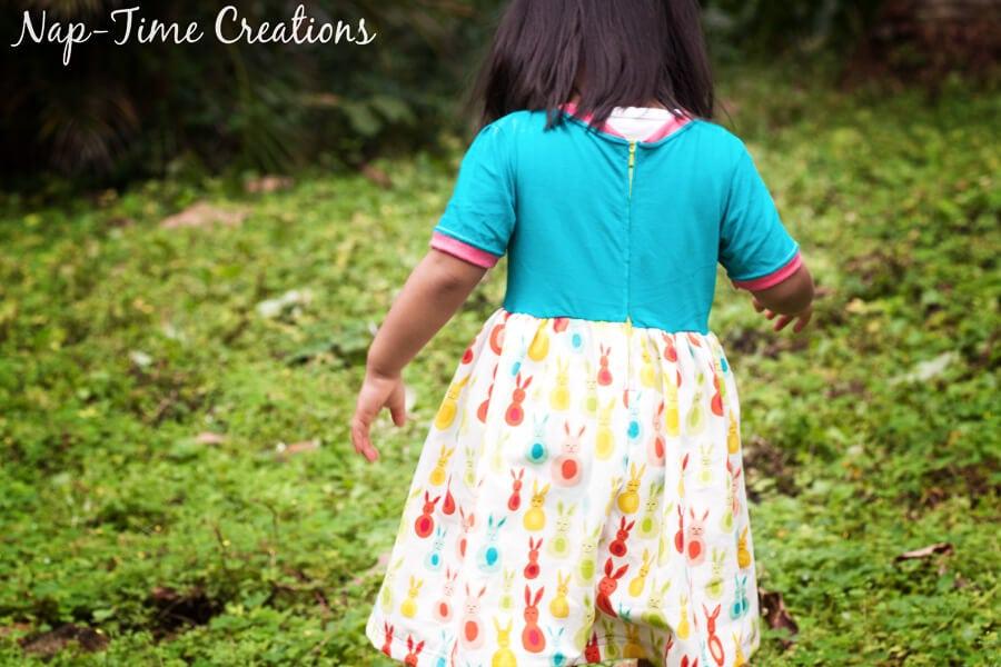 Easy zipper dress free pattern 24