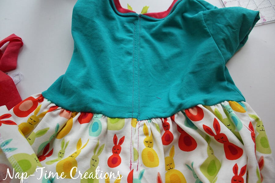 Easy zipper dress free pattern 5