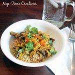 Jamie's Mega Mushroom Curry with Lemony Rice from HelloFresh