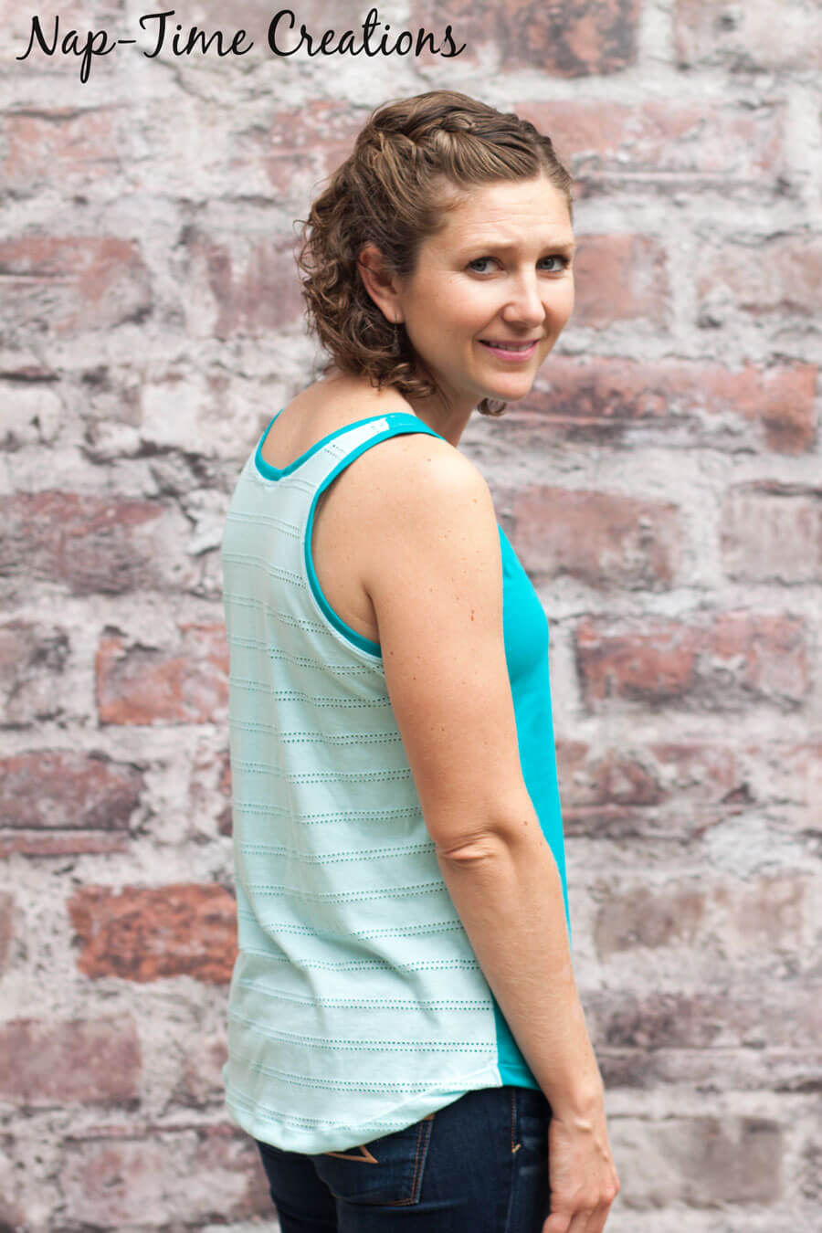 simple summer tank sewing pattern for women