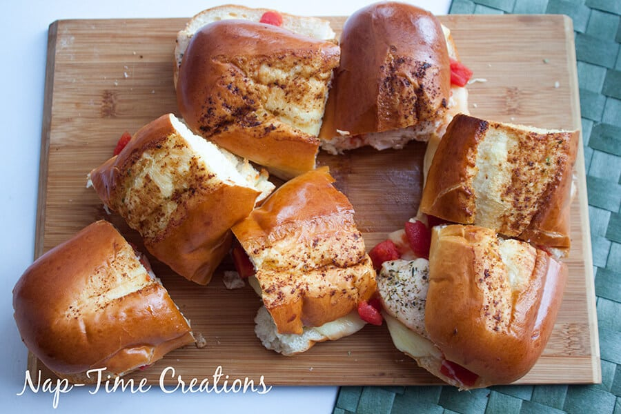 Tomato Chicken Baked Subs 1