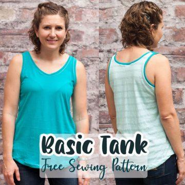 simple summer free tank pattern