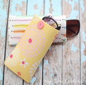 Easy Sew Sun Glasses Case
