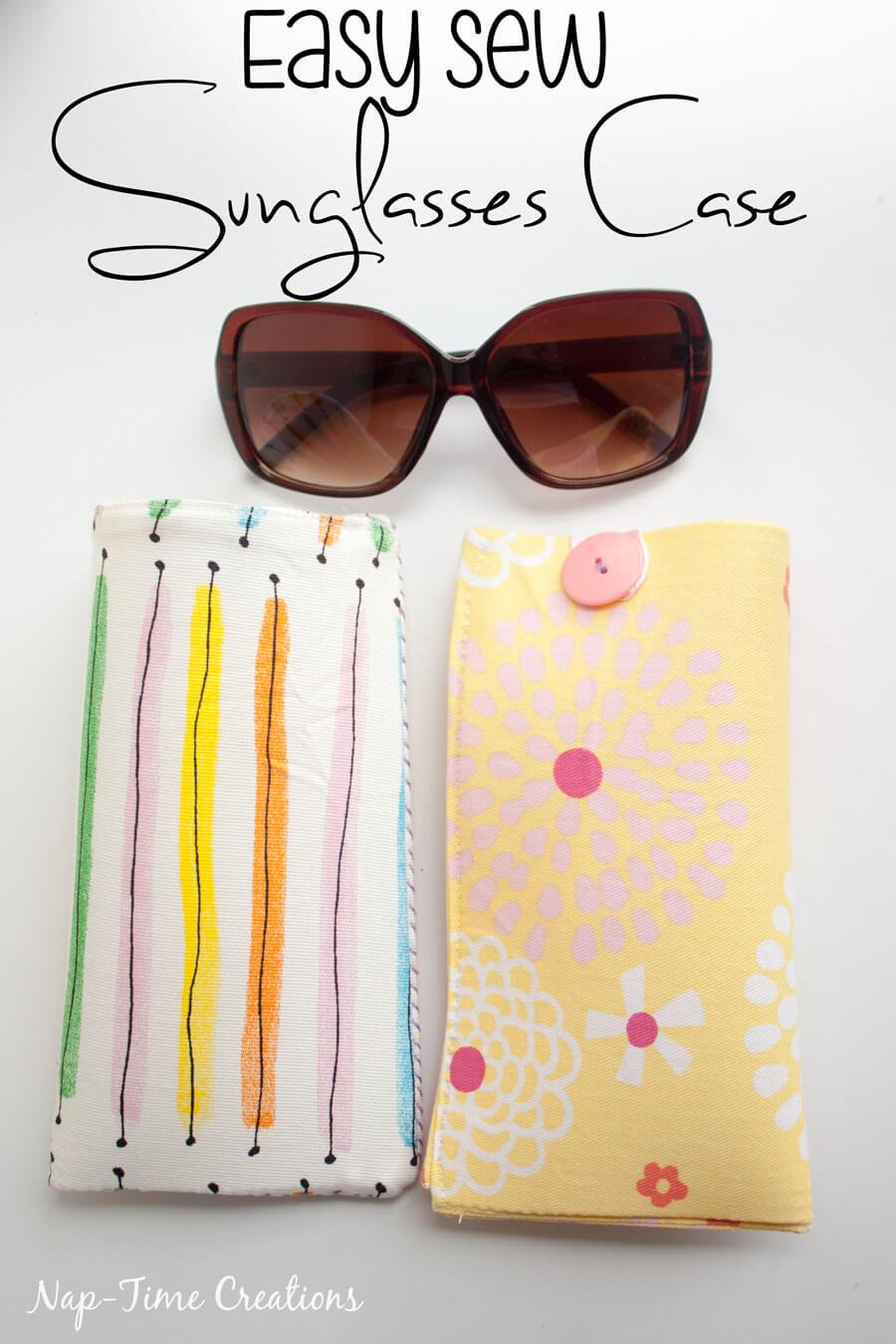 Easy-Sew-Sun-Glasses-Case