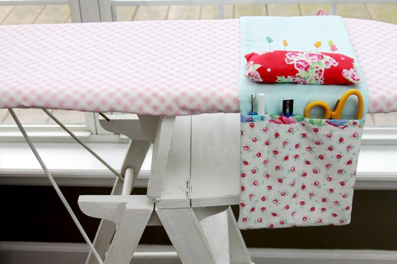 Fabric-Ironing-Board-Organizer