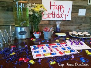 Special Happy Birthday Candy {party}