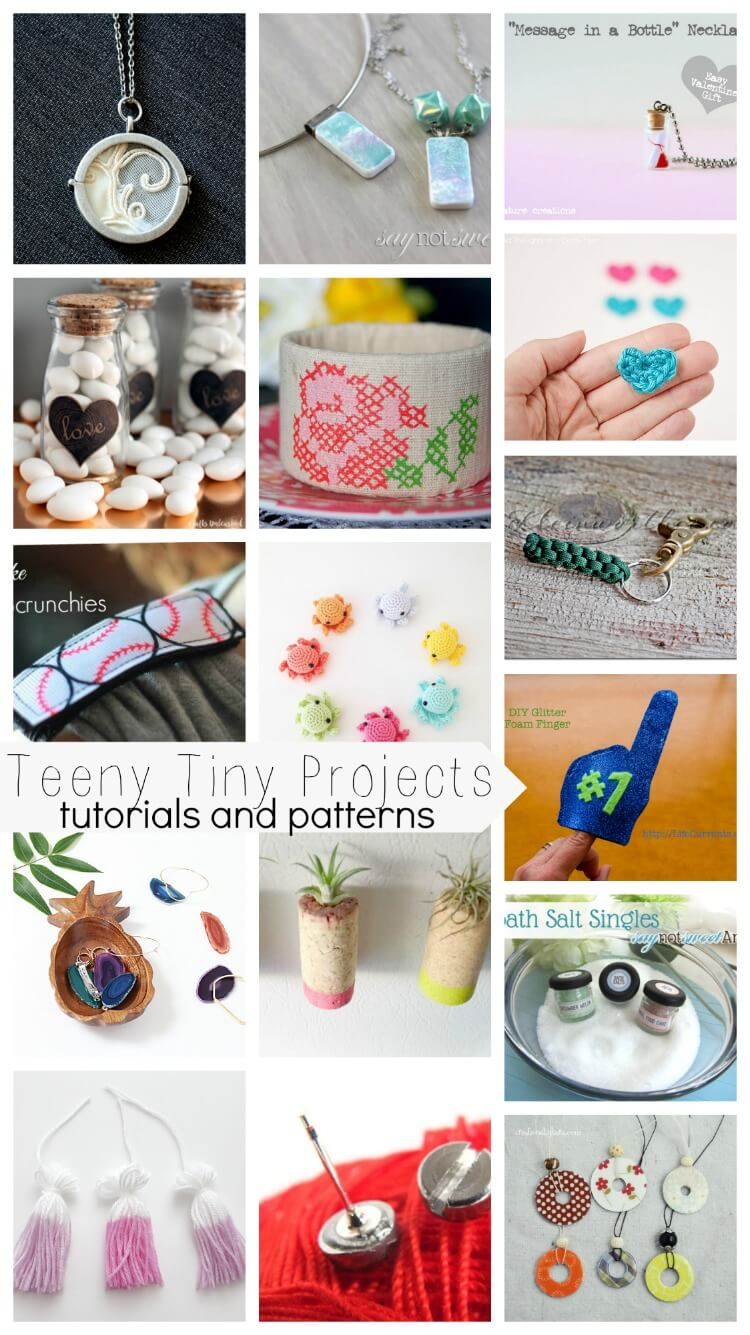 Teeny Tiny Projects - Tutorials and Patterns