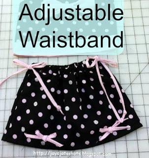 adjustable waist icon