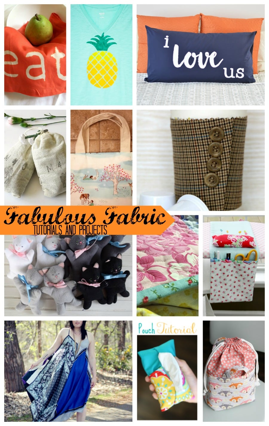 fabulous Fabric Projects and tutorials