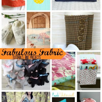 Even More Fabulous Fabric Projects and Tutorials