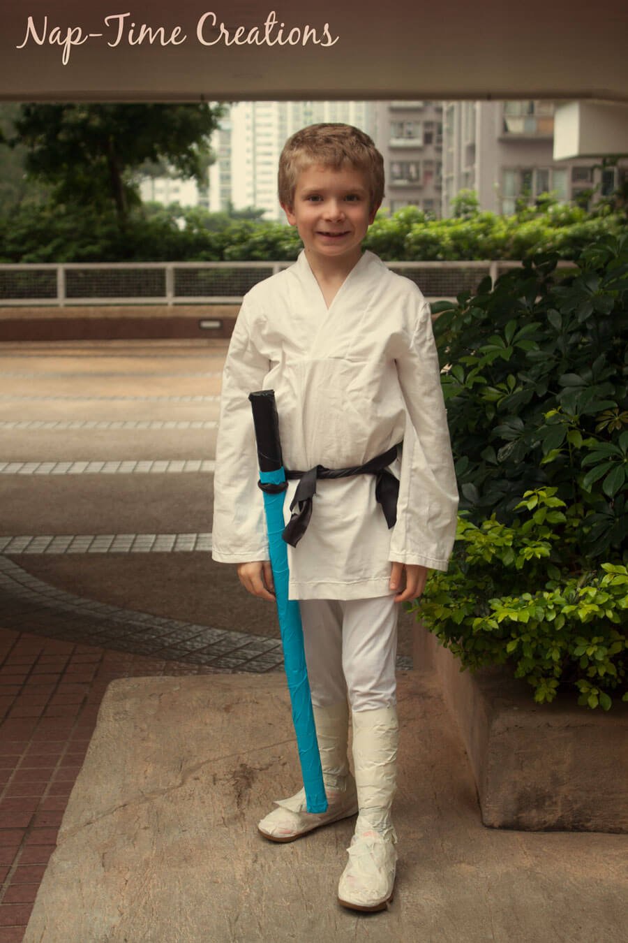 Easy Luke Skywalker Costume Life Sew Savory