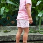 Summer Shortie Leggings Free Pattern 18M-12Y