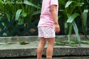 Summer Shortie Leggings Free Pattern 18M-12Y