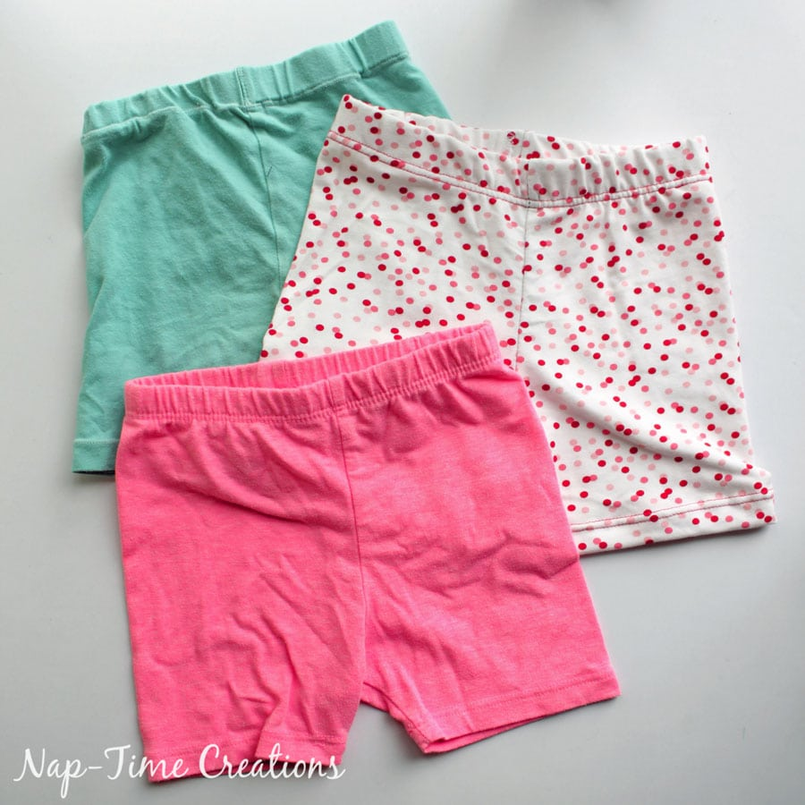 summer shortie leggings