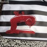 Refashioned Tote Bag with Vinyl and SNAP