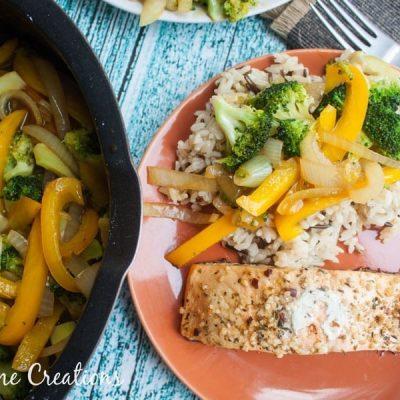 Simple Veggie Stir Fry Recipe