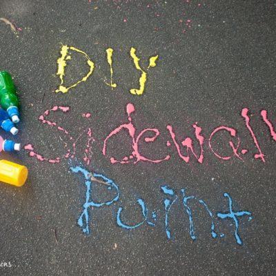 DIY Sidewalk Paint Shooters
