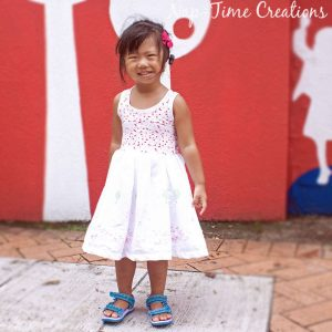 Girls Sundress Tutorial with Free Printable Tank