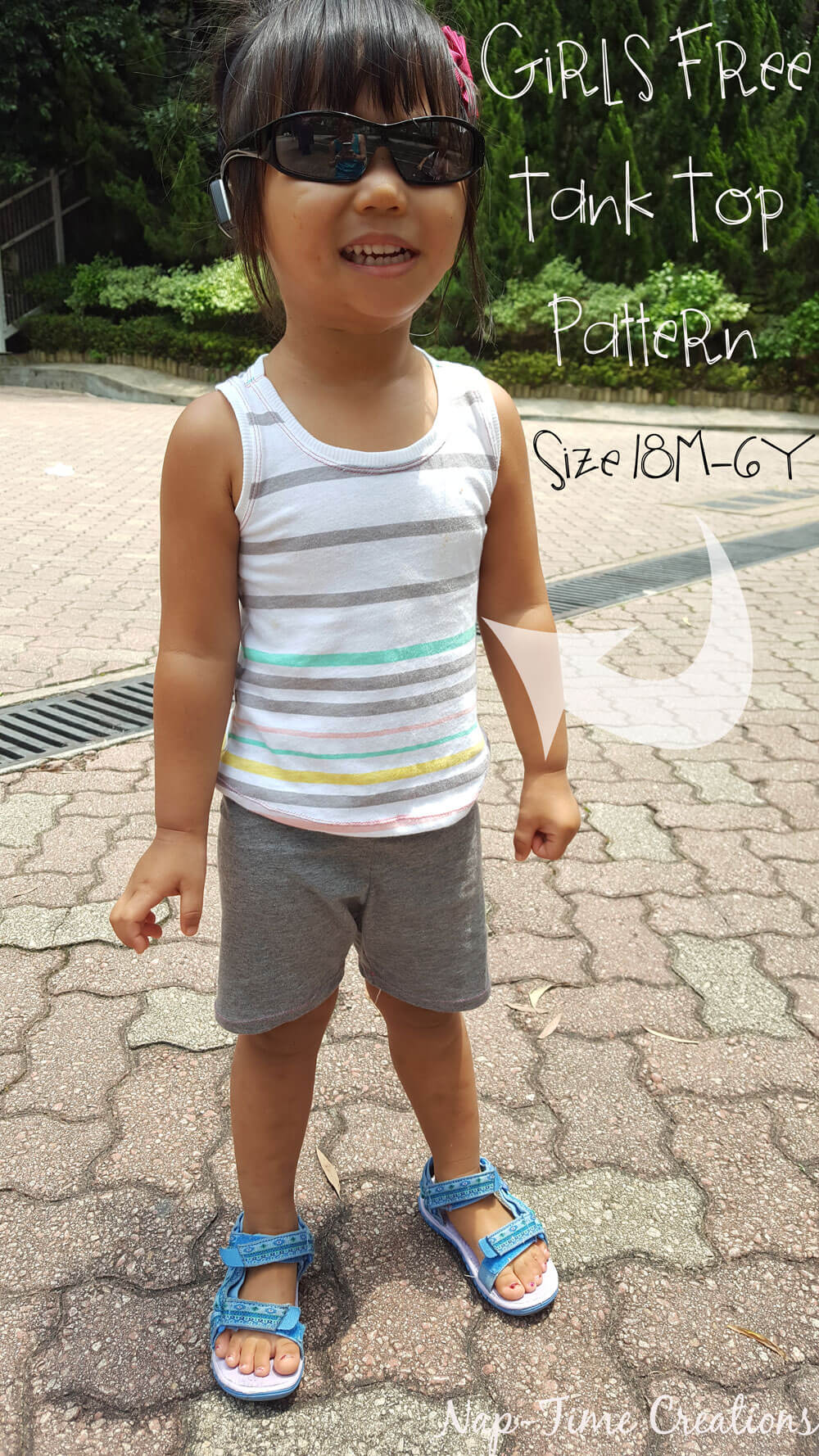Girls Free Tank Pattern 18m-6y-easy-sewing-tutorial-from-Nap-Time-Creations
