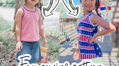 free tank pattern and tutorial