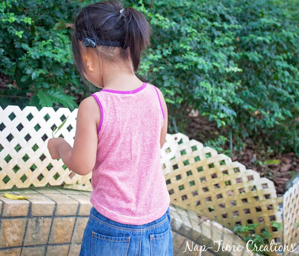 Girls Free Tank Pattern