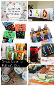 Great Ideas for Father's Day and Create Link Inspire Party