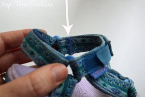 Quick Sandal Fix for long straps