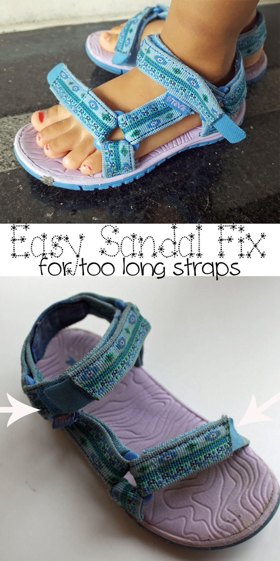 quick-sandal-fix-for-too-long-straps-and-easy-sewing-project-DIY-from-Nap-Time-Creations