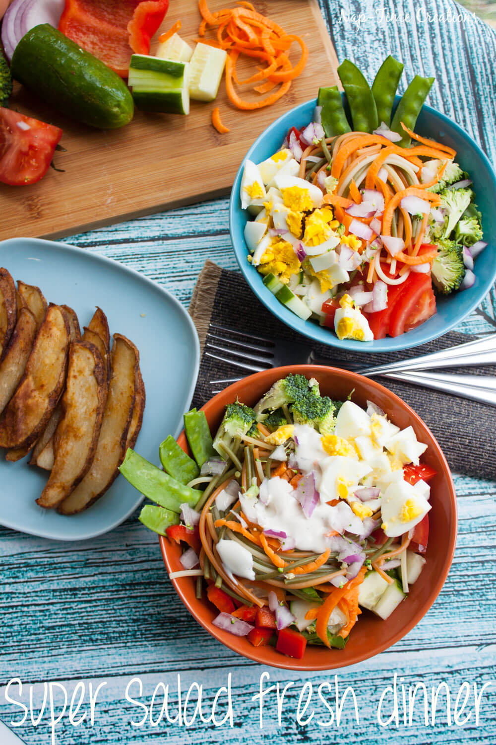super salad fresh dinner-recipe-for-summer-from-nap-time-creations