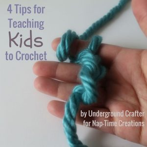 4 Tips for Teaching Kids to Crochet and Summer Fun #2