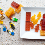 Fruit Juice Jello Lego Snacks- no added sugar