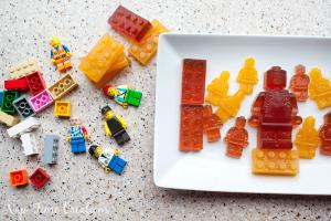 Fruit Juice Jello Lego Snacks- no added sugar