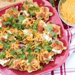 Quinoa Nachos Appetizer for summer parties