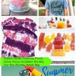 Splatter Paint Shirts and Summer Fun #1