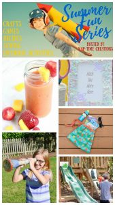Confetti Picture Frame and Summer Fun #3