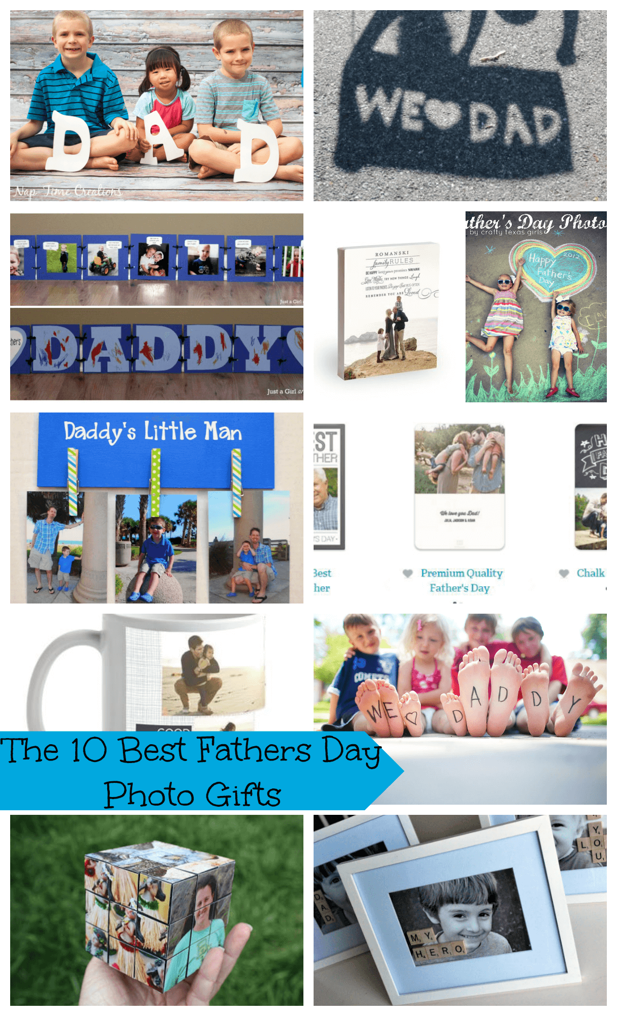 The 10 Best Fathers Day Photo Gifts DIYs from Nap-Time Creations