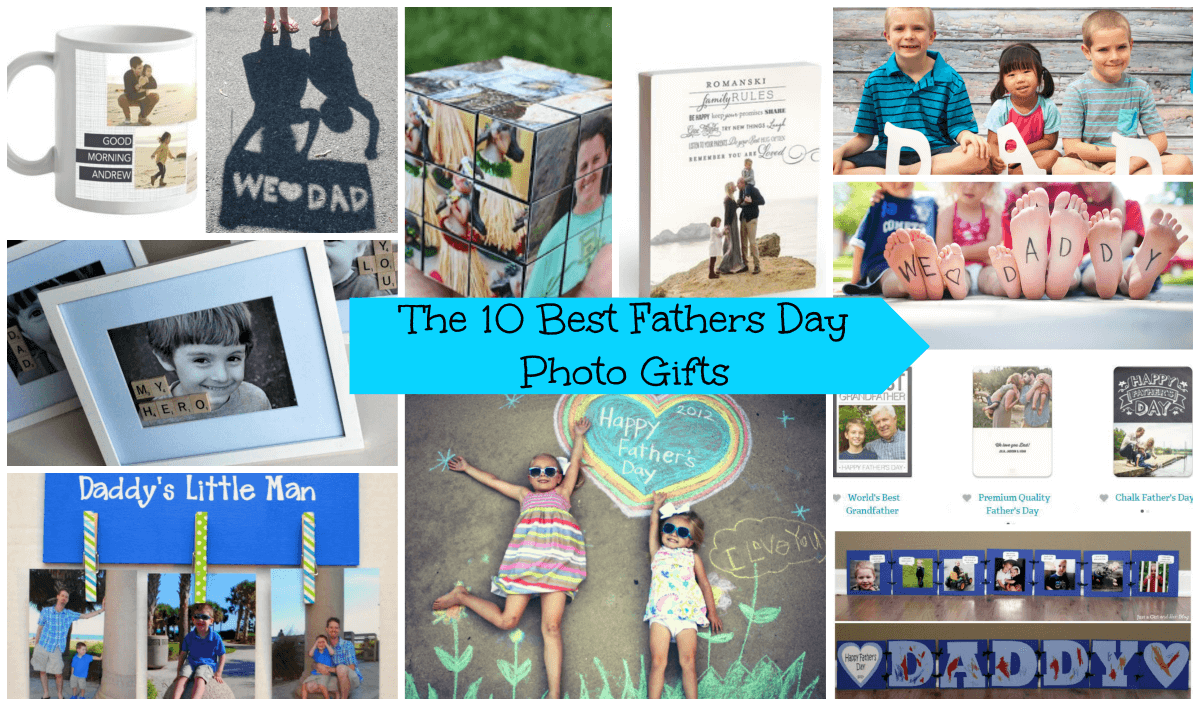 The 10 Best Fathers Day Photo Gifts from Nap-Time Creations