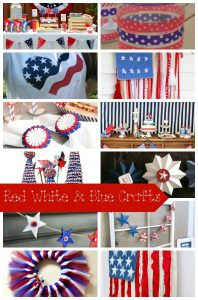12+ Amazing Red White Blue Crafts and Create Link Inspire Party