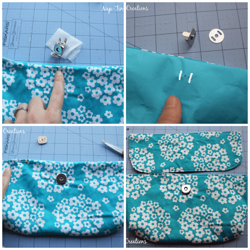 convertible bag step 2