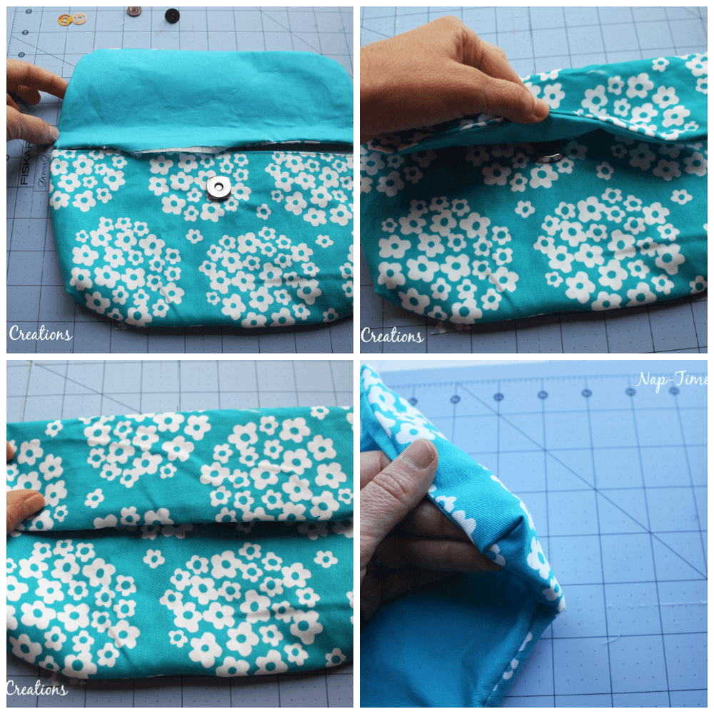 convertible bag step 3