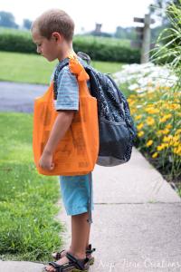 Book Bag Free Pattern & Tutorial