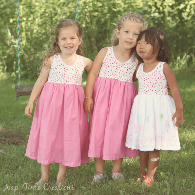 Cousin Dresses- Free Sundress Pattern
