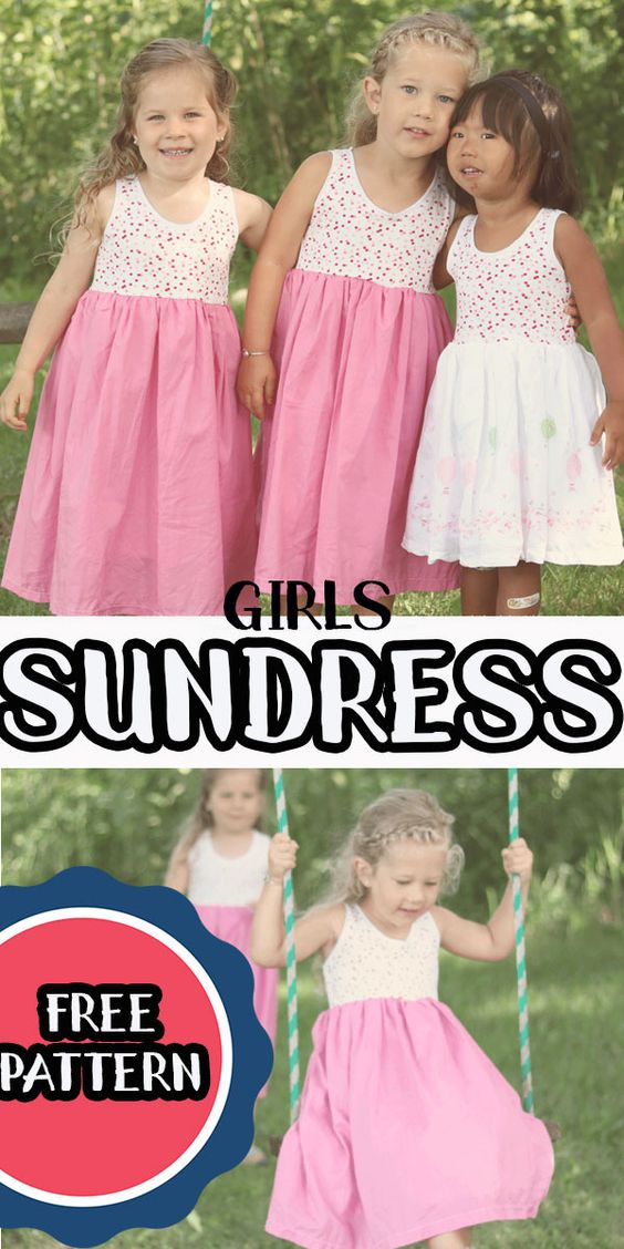 Cousin Dresses- Free Sundress Pattern