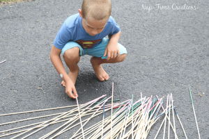 Large Pick Up Sticks & Summer Fun #5