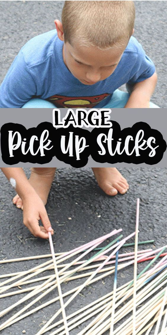 Large Pick Up Sticks and Summer fun #5