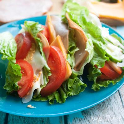 Lettuce Sandwich Wraps