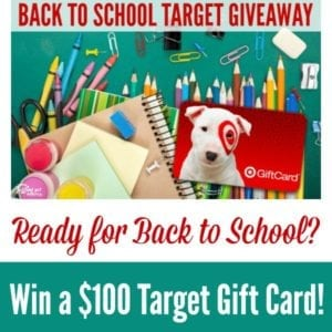 $100 Target Back to School Giveaway 600x600