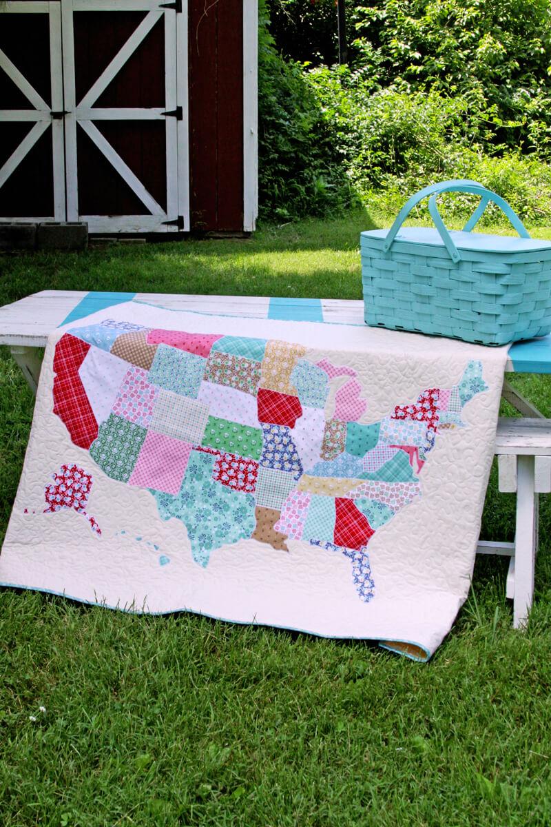 DIY-US-Map-Lap-Quilt