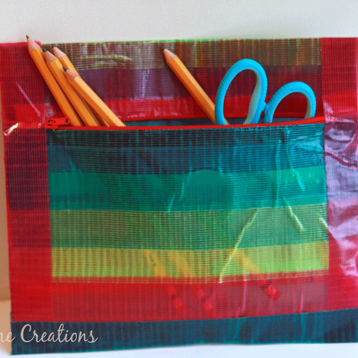 Duck Tape Zipper Pouch + GIVEAWAY