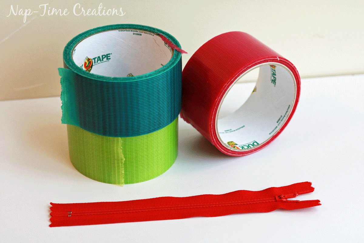 Duck Tape Zipper Pouch